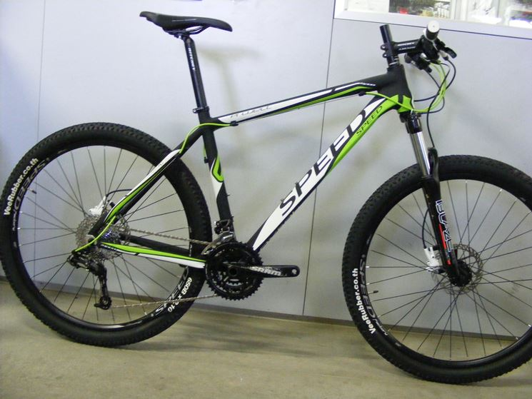 Mountain bike Speed modello Project