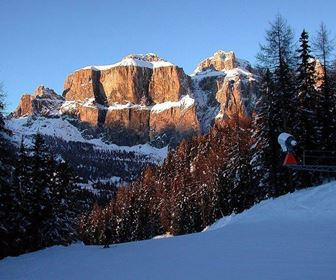 Sci alpinismo in dolomiti