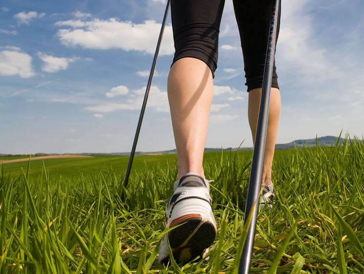 Benefici nordic walking