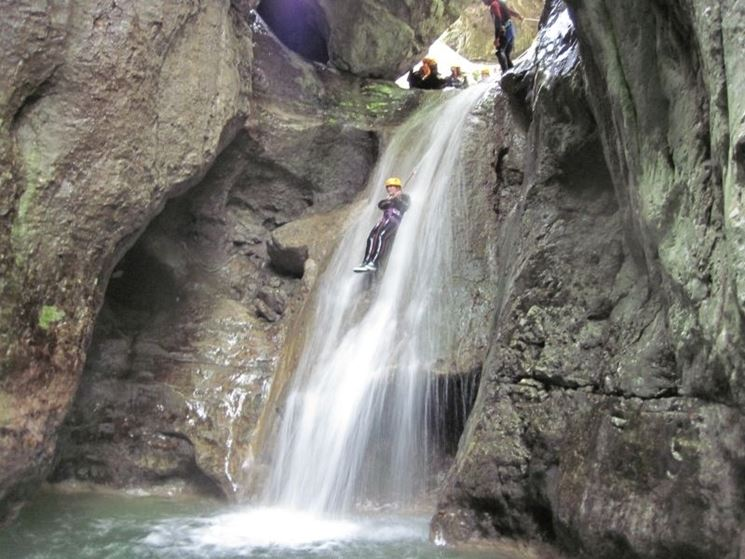canyoning sport