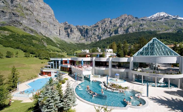 Stabilimento termale a Leukerbad